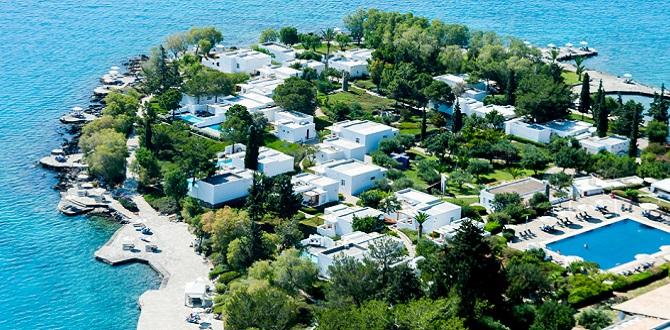 Minos Beach Art Hotel, Остров Крит