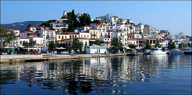 Остров Скиафос, Греция